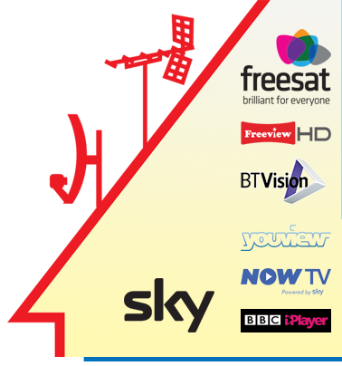 freeview, sky, freesat, hd, bluray, iplayer, smart tv, skype, facebook, youtube